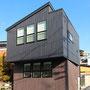 稲熊の家  スキップフロア狭小住宅