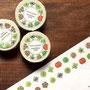 いろいろ多肉植物1 マスキングテープ