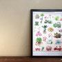 多肉植物図譜 A3ポスター