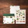 多肉植物図譜 レターセット