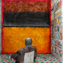 'Rothko's Room with a View', 58x37, Dan Davidson, Watercolor, graphite, ink on paper