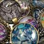 Cabochons mit verschiedenen Mustern by MK Lifestyle & Design