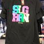 2017 SLAGHAREN THEMEPARK & RESORT Shirt met gekleurde letters 'Slagharen'.