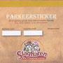 2017 SLAGHAREN THEMEPARK & RESORT Welkomstinformatie: Parkeersticker.
