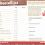 2017 SLAGHAREN THEMEPARK & RESORT Welkomstinformatie: Broodbestellijst.