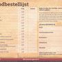 2021 SLAGHAREN THEMEPARK & RESORT Broodbestellijst (SIC)