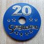 2013 SLAGHAREN THEMEPARK & RESORT Gokpenning plastic.