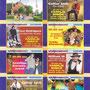 2003 ATTRACTIEPARK SLAGHAREN Avondprogramma 'Sitting Bull Saloon' Camping en Wig Wam Wereld.