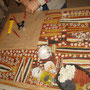 svt: Odette sur son tableau aborigène, tout simplement superbe