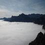Un mare di nuvole sotto ai nostri piedi
