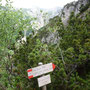 Forcella d'Uderle: veduta sulla Val Canale