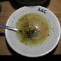 Heiss und gut. Das Essen in der SAC-Hütte – das war nur die Vorspeise...