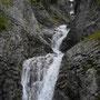 Wasserfall um Wasserfall.