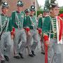 Die Schill'schen Offiziere mit ihrem Gruppenführer Friedel Pütz.