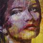 unerreichbar, 2017, Acryl auf Leinwand, 90 x90 cm