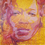 Tribute to Nneka, 2018, Acryl auf Leinen, 130 x 130 cm