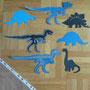 Die Kirigami Dinos habe ich für die Zuckertüte für einen Bekannten ausgeschnippelt, natürlich mit dem Plotter.