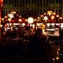 Auf dem Weihnachtsmarkt in Karlsruhe.