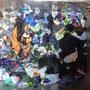 Handwäsche von sehr alten Scraps in der Spüle: die Spüle wird blitzeblank!
