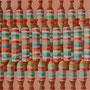 "michou hutter, ""spulen 1"", 2019, 40 x 25 cm, öl auf holz – erlas galerie"