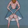 """michou hutter, """"vorraum"""", 2019, 57 x 41 cm, öl auf baumwollgewebe – erlas galerie"""
