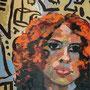 "sigrid hutter, penck's traum"", 2012, 160 x 80 cm, acryl auf leinwand – erlas galerie"