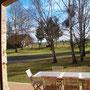le Jardin en hiver, vu de votre terrasse