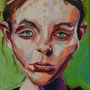 urban angel (5), 2017, acrylic + oil on canvas, 18 x 24 cm