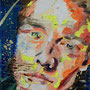 urban angel (14), 2017, acrylic + oil on canvas, 18 x 24 cm