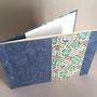 gästebuch A4 quer, Kaharipapier & italienisches papier, vorsatz bütte, nach kundenwunsch