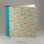 gästebuch, 64 seiten, halbleineneinband & carta varese papier, vorsatz bütte, nach kundenwunsch