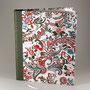 gästebuch, 64 seiten, halbleineneinband & japanisches papier, vorsatz bütte, nach kundenwunsch