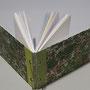 skizzenbuch A5- einband: marmorpapier von katy ebru, st. petersburg- diverse papiersorten gemischt-