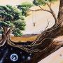 Conny Krakowski - Kindheitstraum - Acryl und Airbrush auf Leinwand