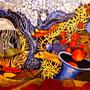 Brigitte Meitner - Fantasie - Acryl auf Leinwand