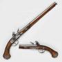 Steinschloss-Pistolenpaar Cominazzo, um 1650