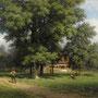 ROBERT ZÜND, Haus unter Nussbäumen