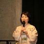 Begrüßung: Ayako Graefe (1. Vorsitzende)