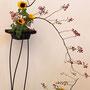A. Mühlbauer: Hagebutten, Sonnenblumen