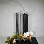 T. Hayashi-Matt: Bambus, Orchideen, Hortensie, Himmelsbambus, trockener Ast