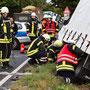© Feuerwehr Völksen - Unfall K214