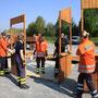 © Feuerwehr Völksen - Osterfeuer in Völksen 2011