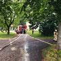 © Feuerwehr Völksen - Baumbrand - 01.06.2018