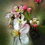 Grappe de fleurs de pommier