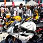 ホント、たくさんのバイク好きが楽しんでいってくれました~ヽ(^o^)丿