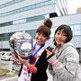 新品ヘルメットがじゃんけん大会でもらえるなんて!!!