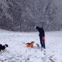 Für viele Jungspunte der erste Schnee.