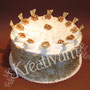 Wallnuss Birnen Torte