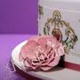 Traum Hochzeitstorte rosa gold - Showtorte für Hamburg - Fantasieblüte