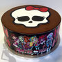 Regenbogen Torte - Monster High